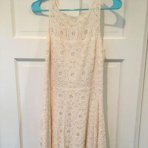 Light Cream Lace Dress